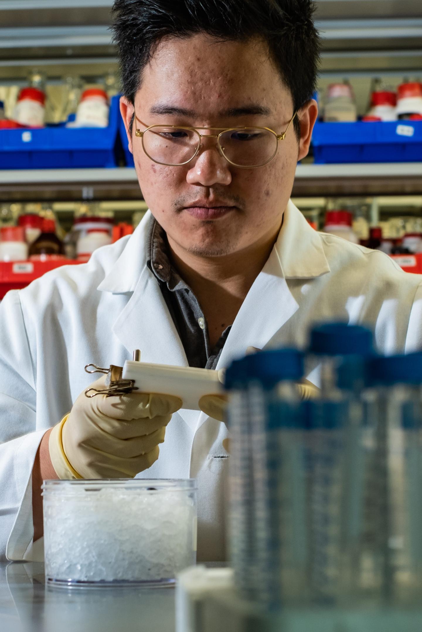 Rice University Graduate Student Jason Guo