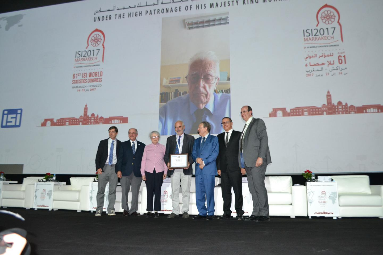 International Prize in Statistics Presented to Sir David Cox