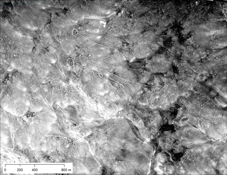 Desert Kites Visible in U2 Spy Images
