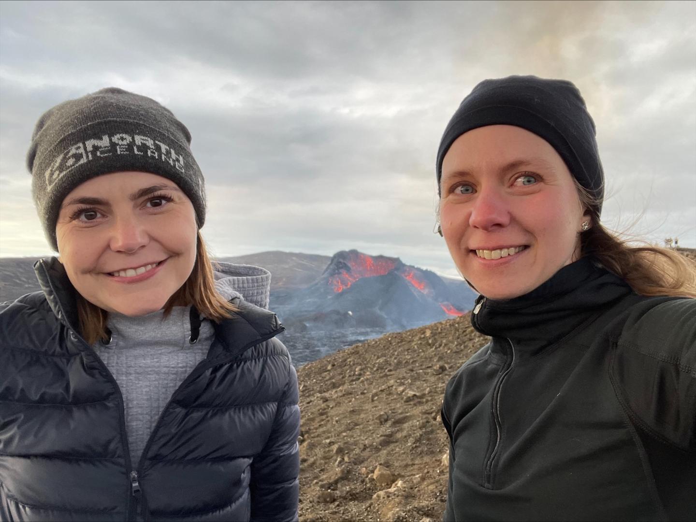 Dr Anna Sigridur Islind and Dr Maria Oskarsdottir