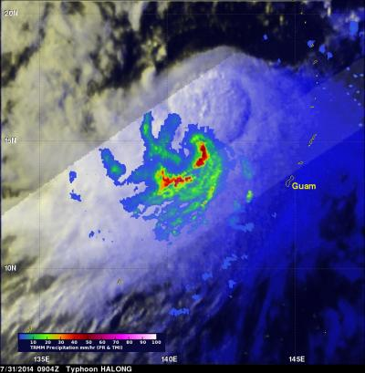 TRMM Image of Halong