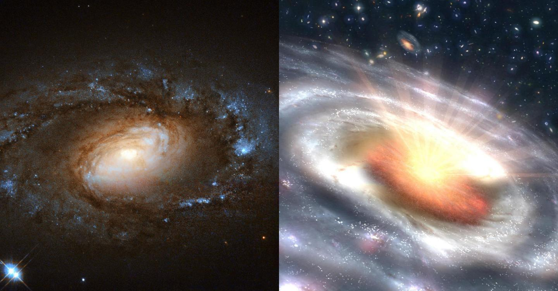 LINER-Quasar Composite