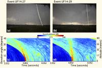 Acoustically Imaged Profiles of Artificially Triggered Lightning