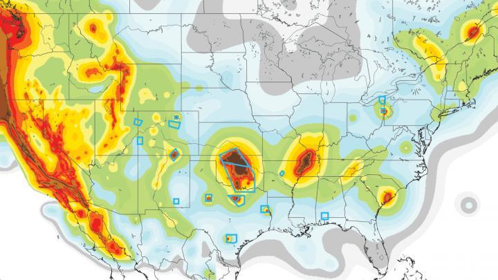 Oklahoma Human-Induced Quake Activity Exceeds Natural Quakes in California