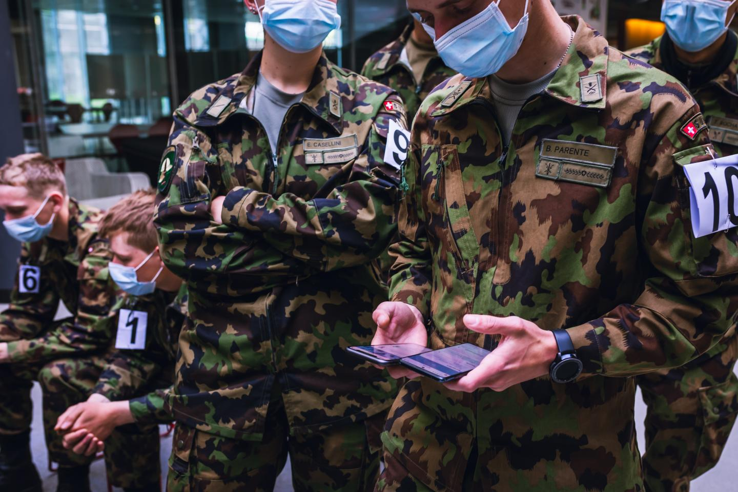 Swiss Army Soldiers Test A Decentralized, Privacy-Preserving Proximity Tracing App