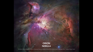 HH204, a Herbig-Haro object in the Orion Nebula