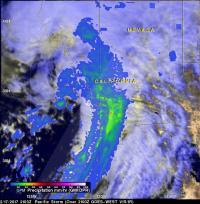 IMERG Analyzed the Feb. 17 Rainfall Event
