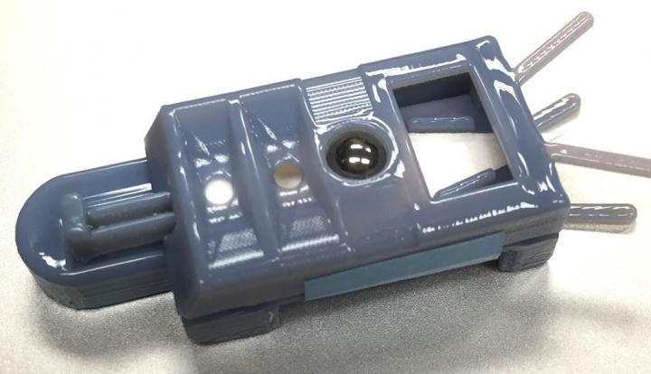 Prototype of IUPUI Mass Spectrometry Cartridge