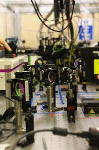 A Section of the Optical Path Setup