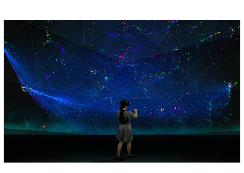 Immersive network exploration