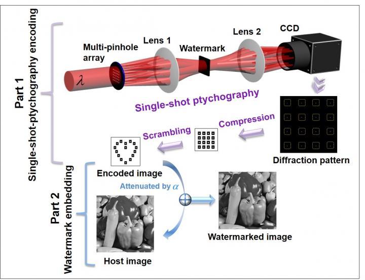 Optical Watermarking