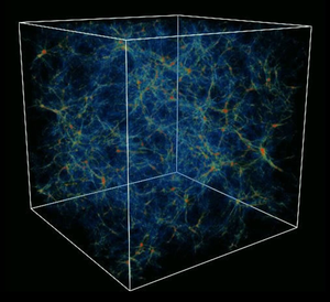 simulation of the cosmic web