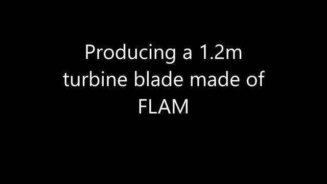 Using FLAM to 3-D Print a Wind Turbine Blade