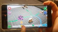 Smartphone App Controls a Robot