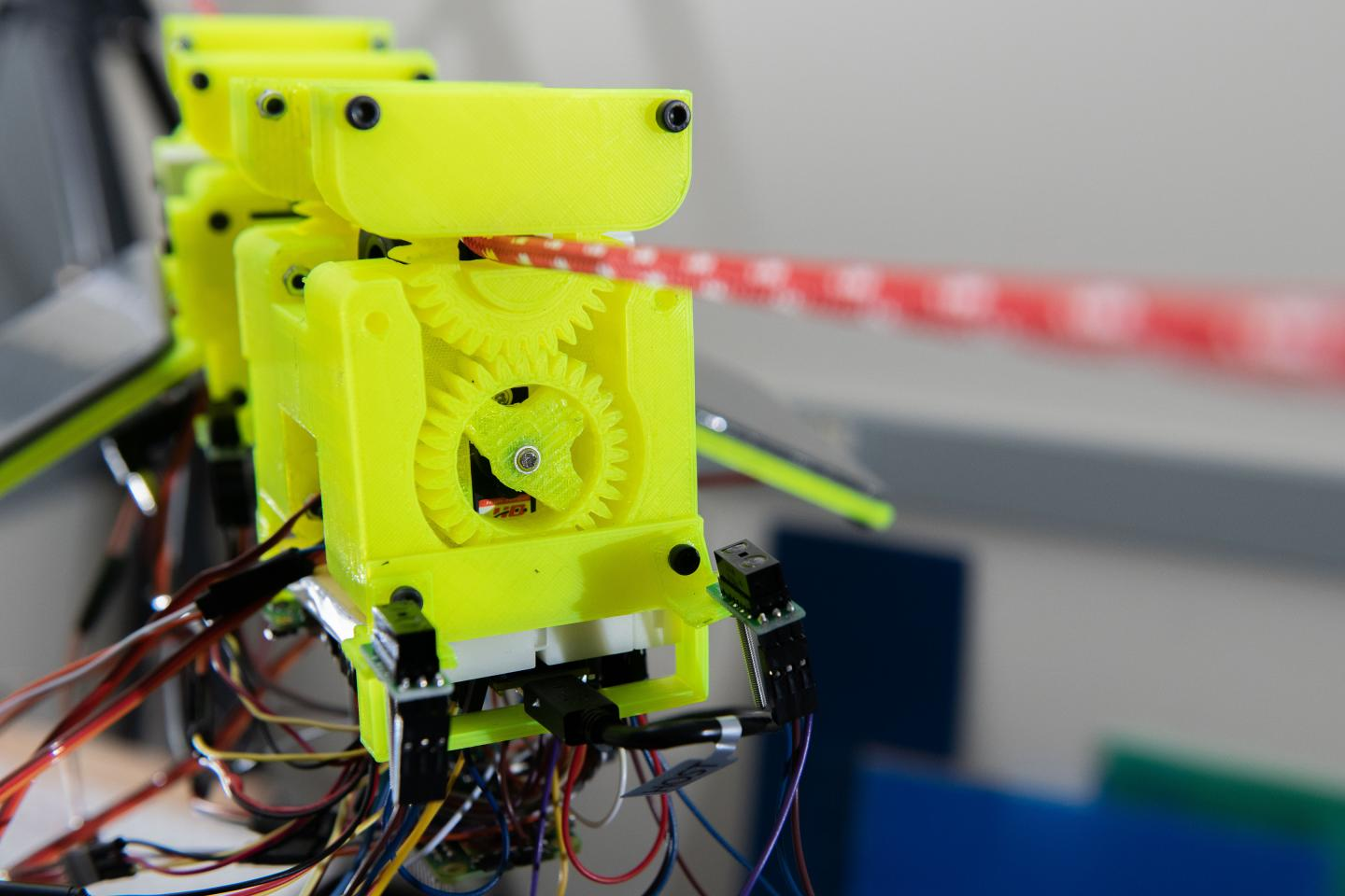 3D Printed Components of SlothBot