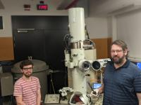 PhD scholar Brenton Cook and Prof Dougal McCulloch