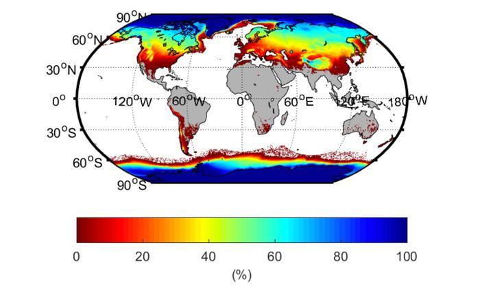 cryosphere extent