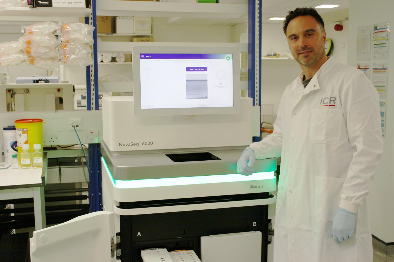 The NovaSeq 6000 in the ICR's Tumour Profiling Unit