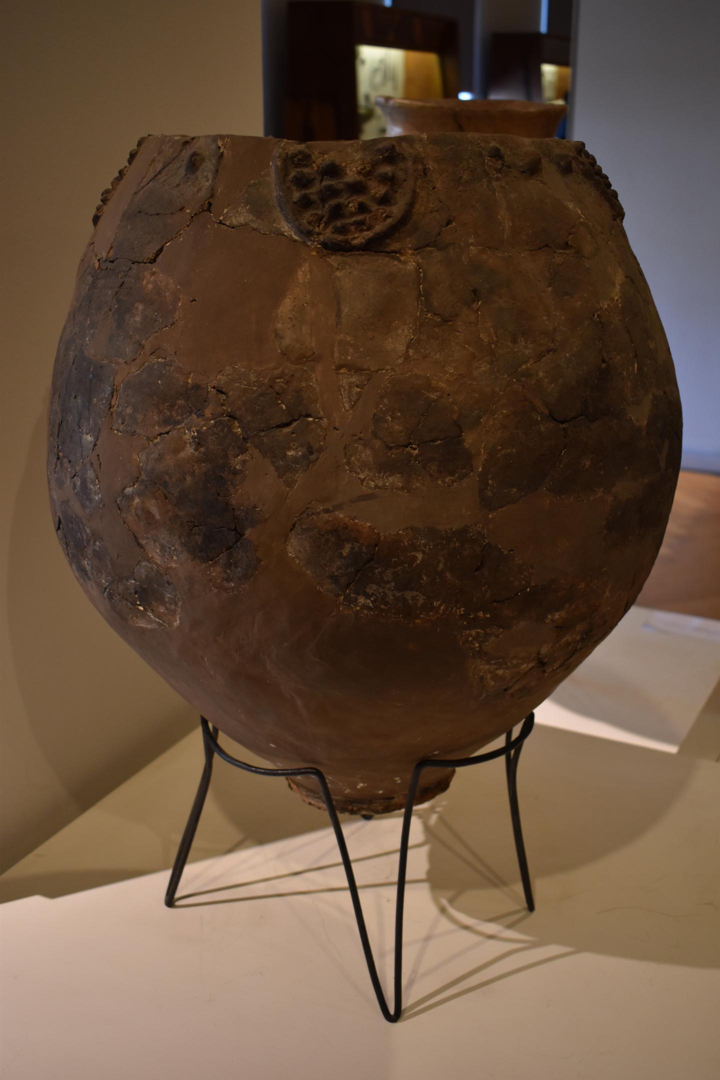 Neolithic Jar in Georgian National Museum