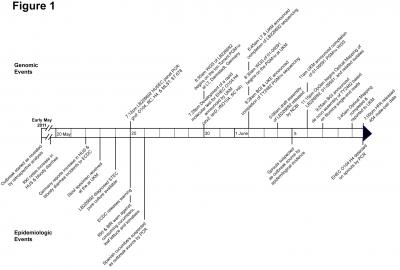 Events Timeline of German EHEC O104:H4 Outbreak