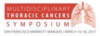2017 Multidisciplinary Thoracic Cancers Symposium Logo