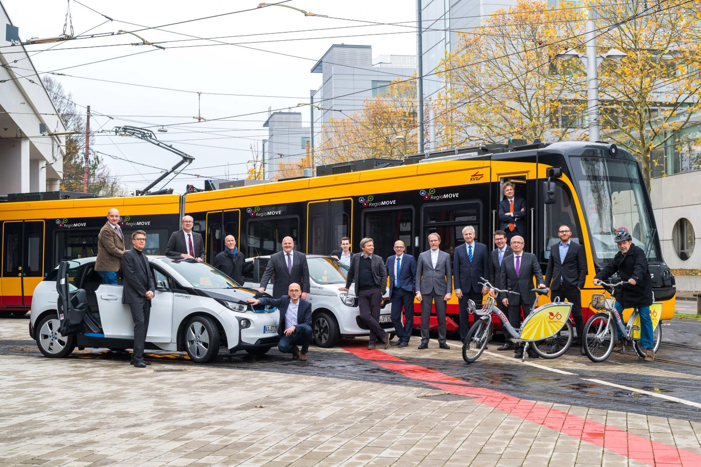 The Consortium Partners of the RegioMOVE Project Consider All Types of Mobility