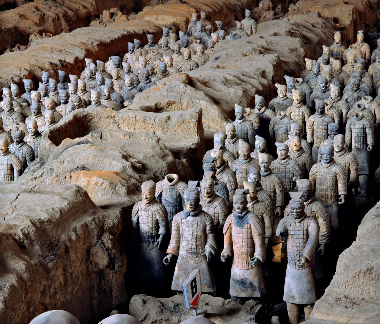 F0 Pit 1 of the Terracotta Army