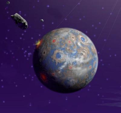 Asteroid-Earth Collision