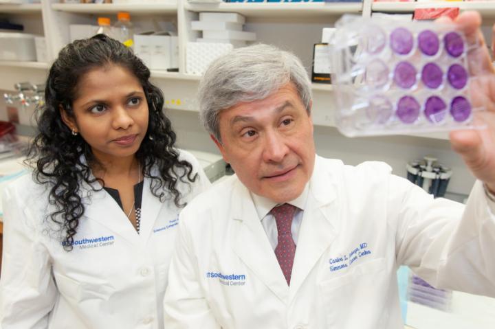 Dhivya Sudhan, Ph.D. and Carlos L. Arteaga, M.D., UT Southwestern Medical Center