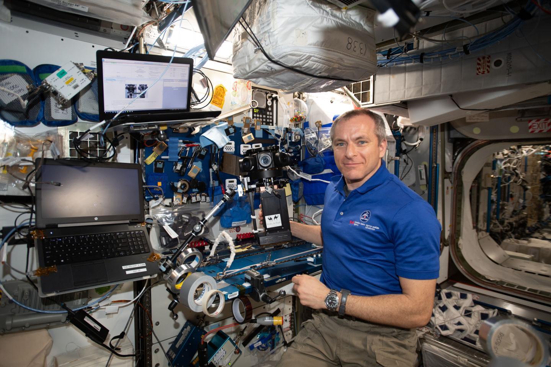 CSA Astronaut David Saint-Jacques