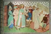 King Erik is Warned during Mass
