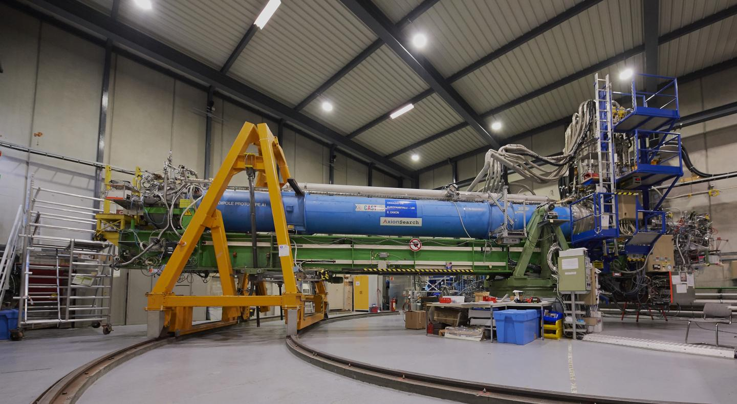 CAST Project Places New Limitations on Dark Matter