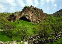 View of the Entrance to Shanidar Cave