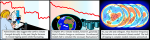 Low frequency fluctuations in the Earth System