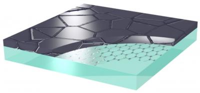 Graphene Coated with Thin Film Silicon