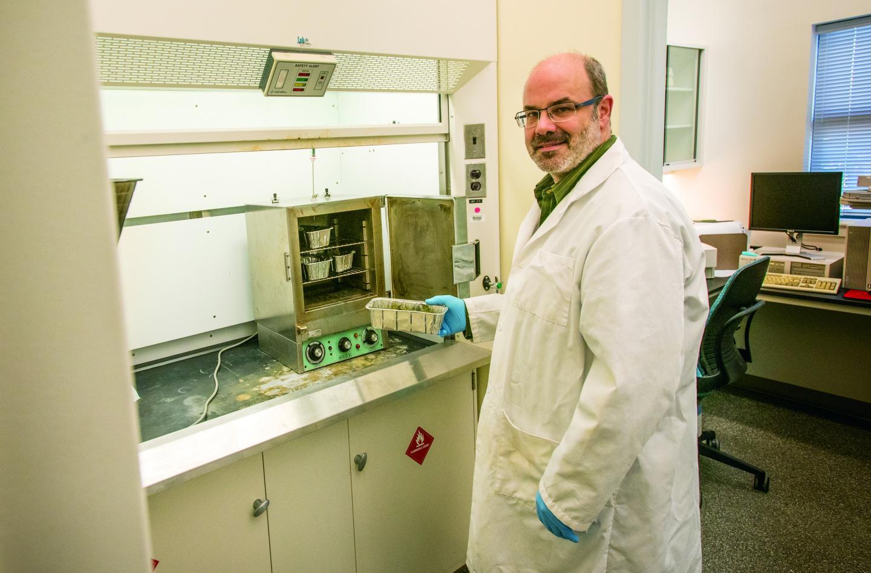 UConn's Hemp Testing Lab