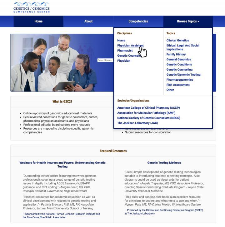 G2C2 Website