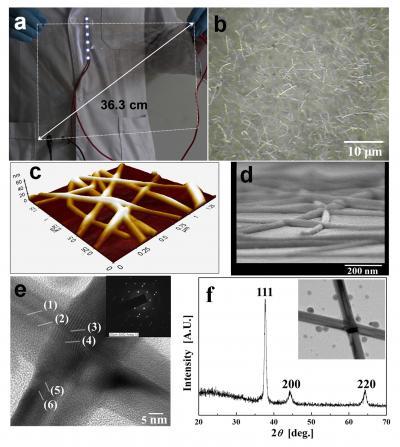 Silver Nanowire Transparent Conducting Film