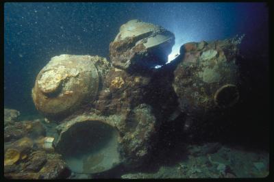 Bowls Underwater