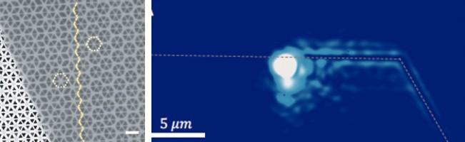 Helical Topological Exciton-Polaritons on a Tungsten Disulfide-based Device