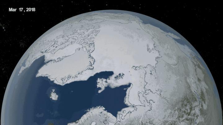 Arctic Sea Ice Summer 2018