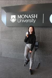 PhD student Yingyi Huang