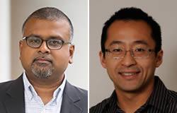 Kartik Chandran, Ph.D. (left), Jonathan Lai, Ph.D., Albert Einstein College of Medicine