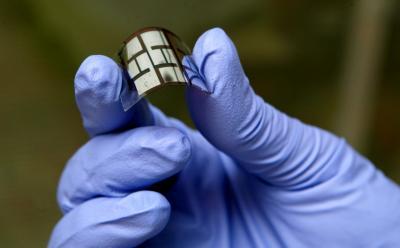 Folded Solar Cell