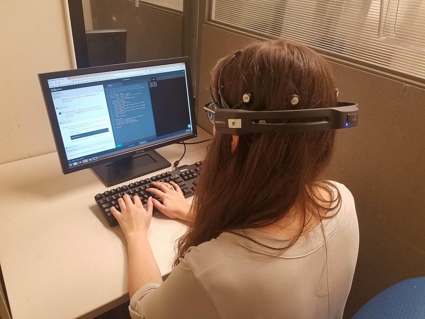 Measuring Brain Activity while Coding