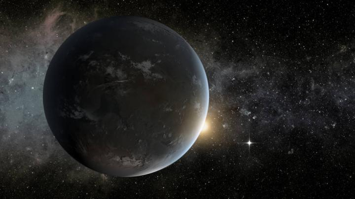 A Planet Orbiting in the Habitable Zone of a K Star