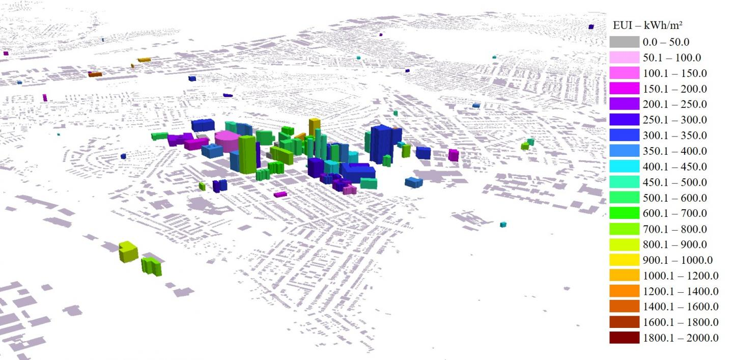 Building Energy Map of Pittsburgh