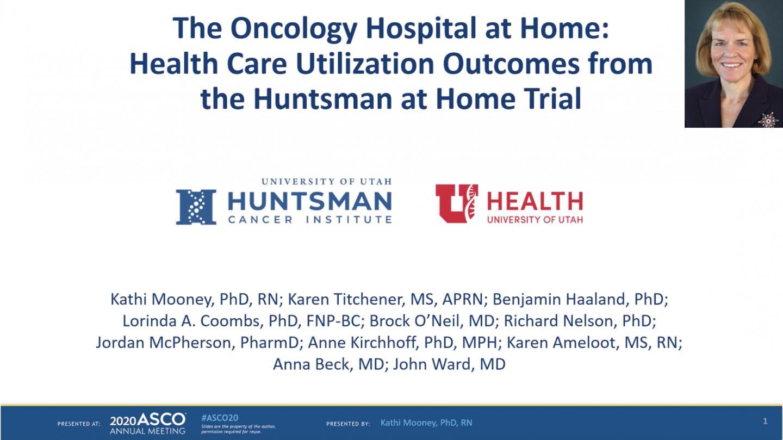 Huntsman at Home presented by Kathleen Mooney, PhD