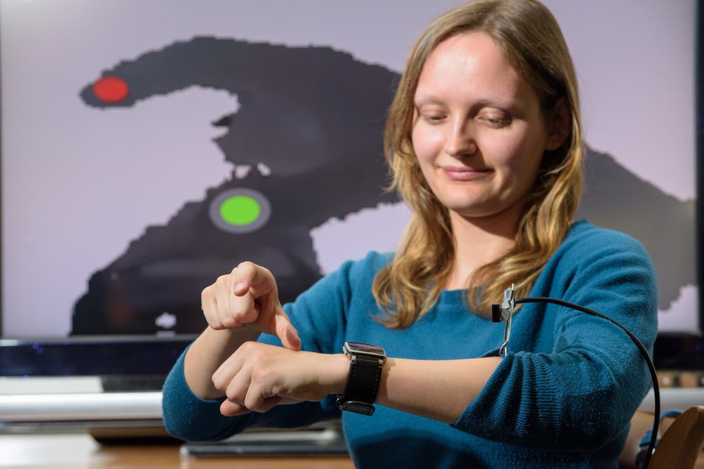 Operating Smart Devices from the Space on and Above the Back of Your Hand