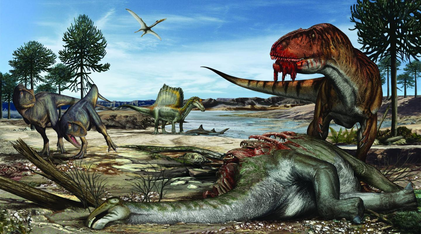 Predators Abound on Land, in the Air and in Water Some 95 Million Years Ago